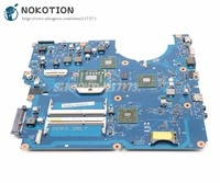 NOKOTION For Samsung NP-R525 R525 Laptop Motherboard Socket s1 Free CPU DDR3 ATI GPU BA92-06827A BA92-06827B BA41-01360A