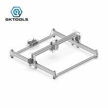 Gktools Diy Hout Mini Cnc Laser Graveur Cutter Graveermachine Frame Zonder Laser,45*45 Cm Acryl Pwm, Grbl Eleksmaker