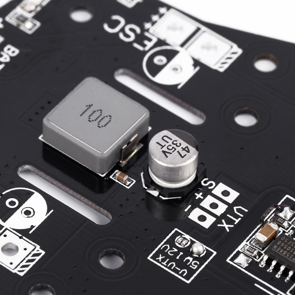 Naze32 CC3D PDB PCB Power Distribution Board 5/12 BEC Buzzer LED For QAV250 Quadcopter enlarge