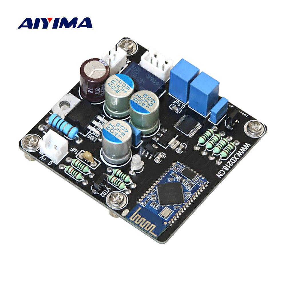 AIYIMA CSR64215 4 2 Bluetooth приемник + PCM5102A декодирующий модуль DAC для усилителя наушников