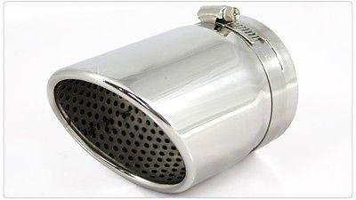 Silenciador de escape de acero inoxidable, extremo de tubo para JEEP Grand Cherokee 2011 2012 +