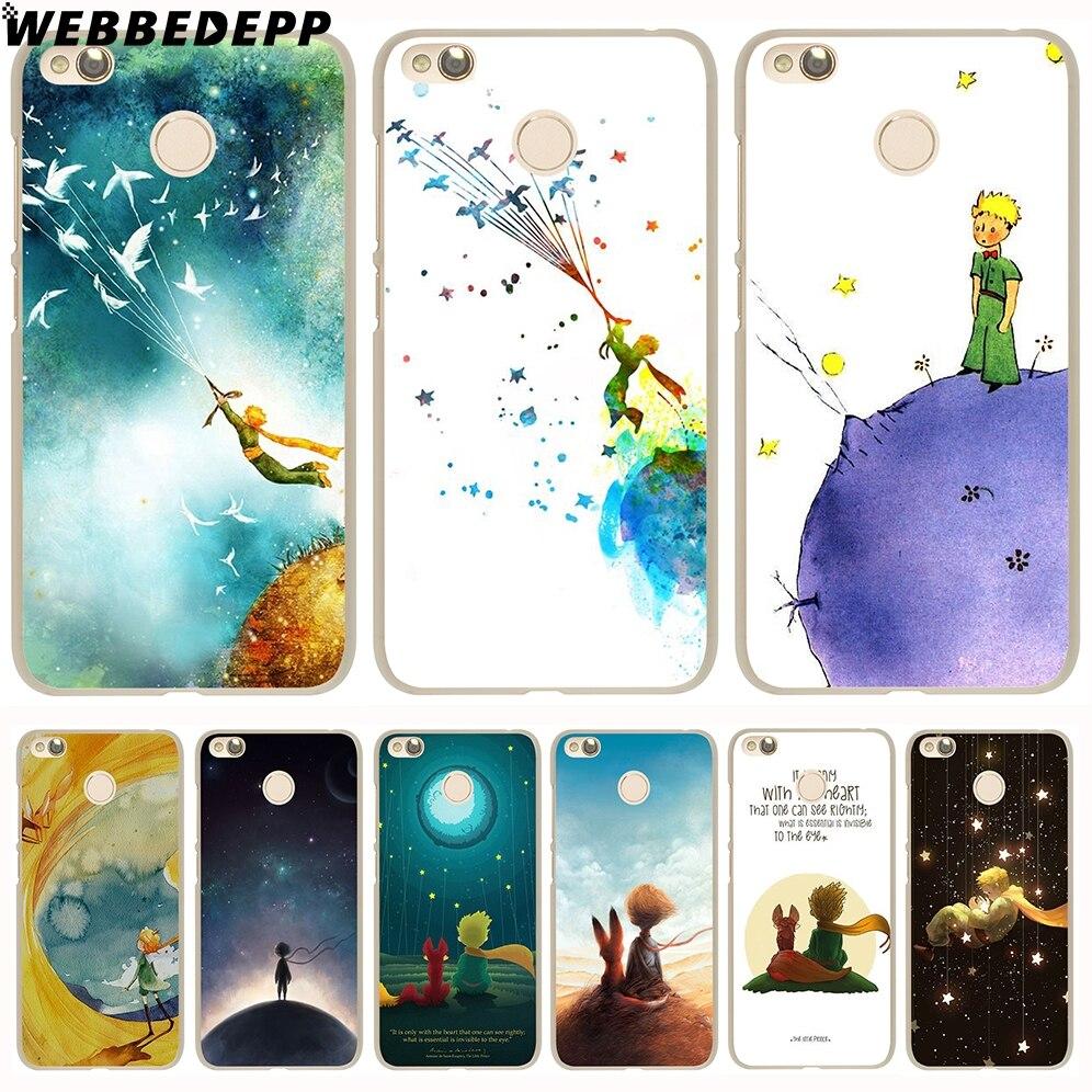 WEBBEDEPP, funda Go The Little Prince and the Fox funda de teléfono para Xiaomi Redmi 4X 4A 5A 5 Plus 6 Pro 6A S2 7 Note 5 6 7 8 Pro 4X