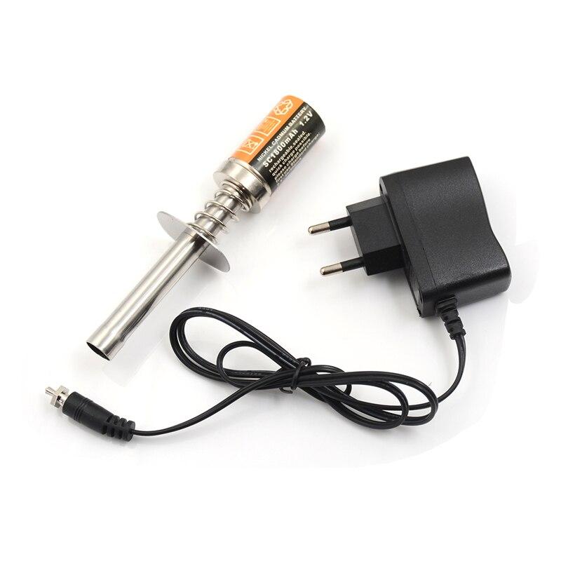 Стартер Nitro Kit светящийся заглушка воспламенитель с зарядным устройством для HSP RedCat Nitro питание 1/8 1/10 RC автомобиль