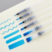 Offre spéciale 6 pièces/ensemble pinceau couleur de leau pinceau crayon doux aquarelle pinceau stylo pour débutant peinture dessin Art fournitures cadeau