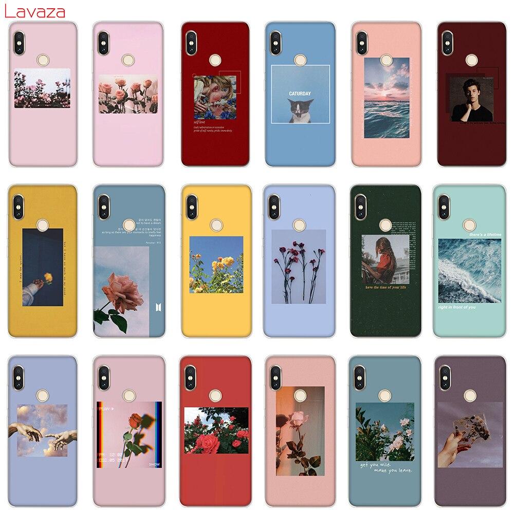 Lavaza Lock Screen  Aesthetic Hard Phone Case for Xiaomi Redmi 5A 5 Plus 6 Pro 6A cases for Redmi Note 5 6 7 Pro Cover