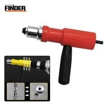 FINDER électrique tirer Rivet outil de Conversion écrou insérer rivetage adaptateur pistolet ensemble puissance sans fil perceuse main riveteuse clou accessoire