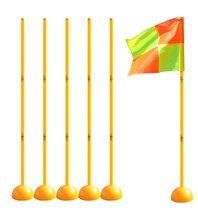Su Enjeksiyon Taban Futbol Işareti Direği Bayrak Logo Bar Eğitim Ekipmanları Işareti Engel Marker Çubuk