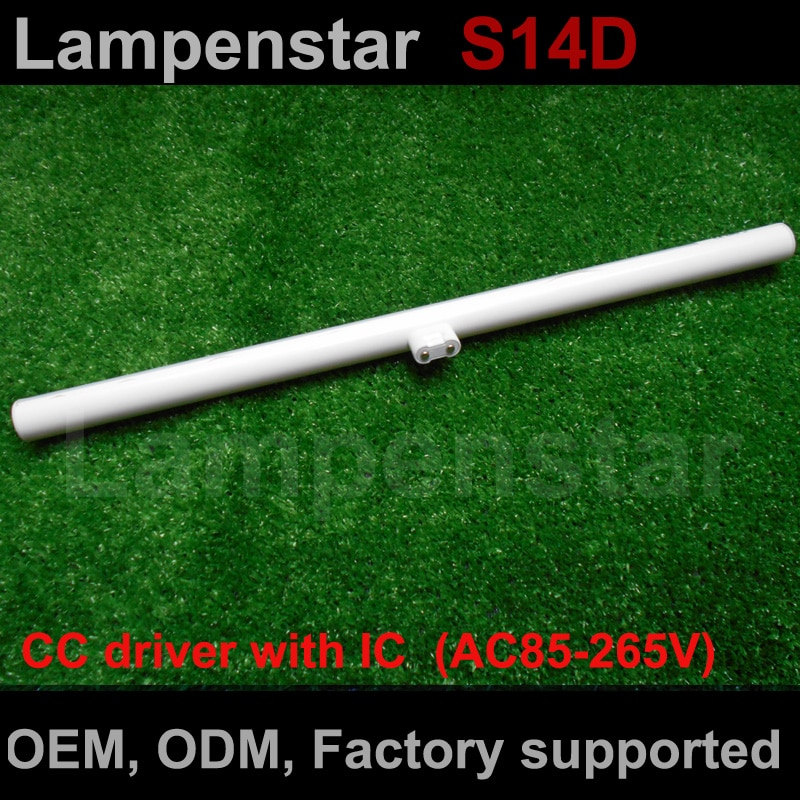 S14D luz led s14 bombilla 3w 6w 10w 12w 300mm 500mm sustitución directa linestra ce rohslampenstar