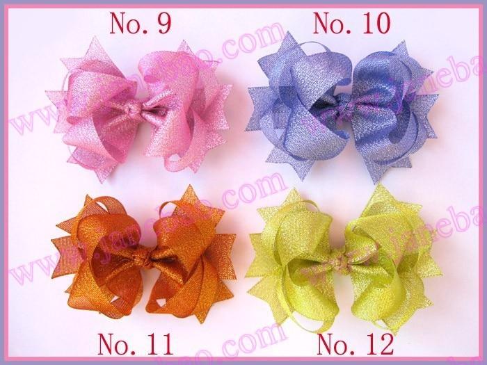 free shipping 2017 Newest  80pcs 4'' ring hair bows girl boutique hair bows girl hair accessories  hair clips