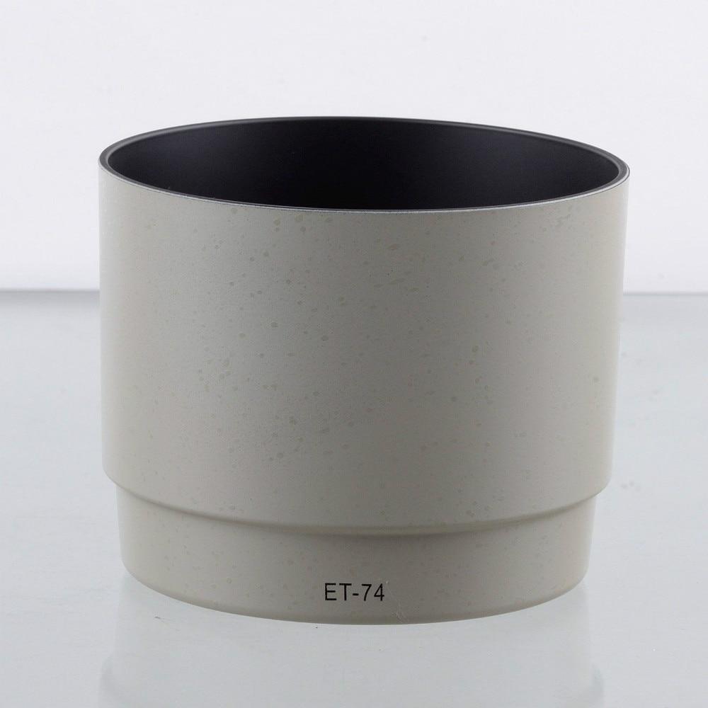 Бленда для объектива CANON EF 70-200 мм f/4L F4 USM, серый, белый, ET-74 ET74