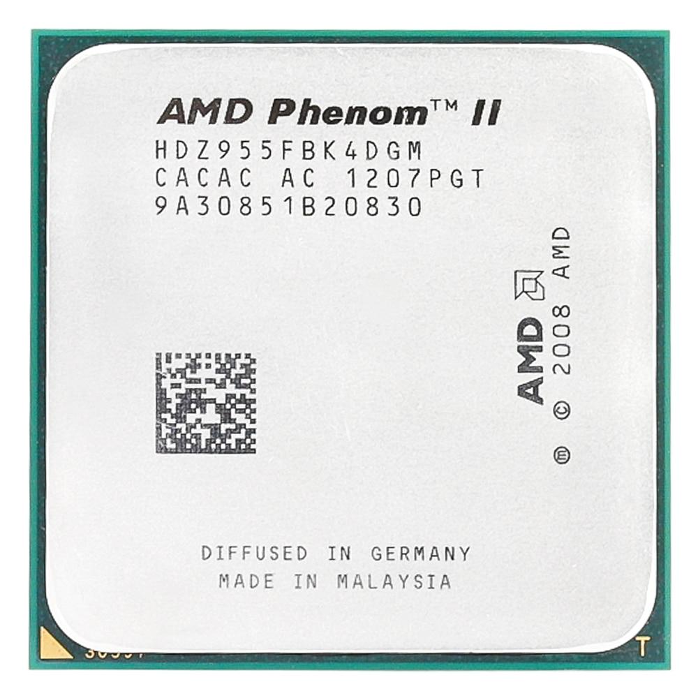 AMD Phenom II X4 955x4 955/3. 2 Ghz/L3 = 6 mo/processeur Quad-Core Socket AM3/938 broches