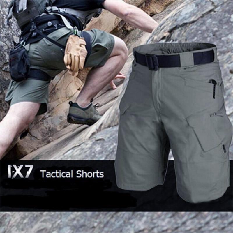 Men's Urban Military Cargo Shorts Cotton Outdoor Camo Short Pants FS99