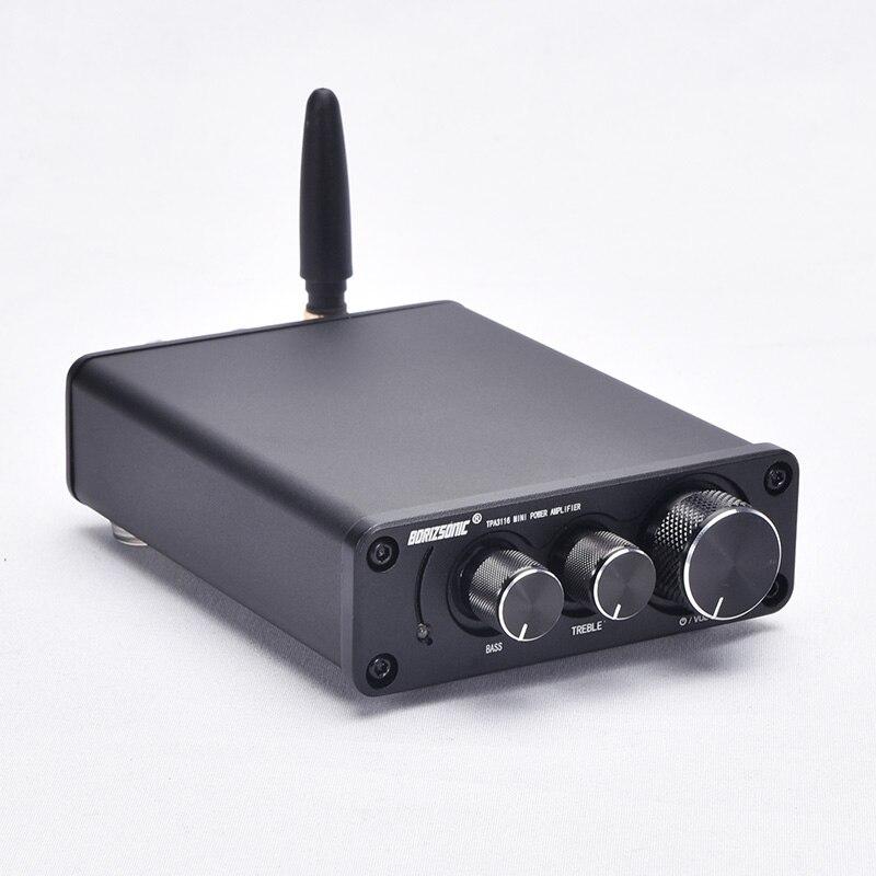 Новинка 2019 HIFI мини TPA3116 стерео аудио усилитель Bluetooth 5,0 сабвуфер высокой мощности Amp