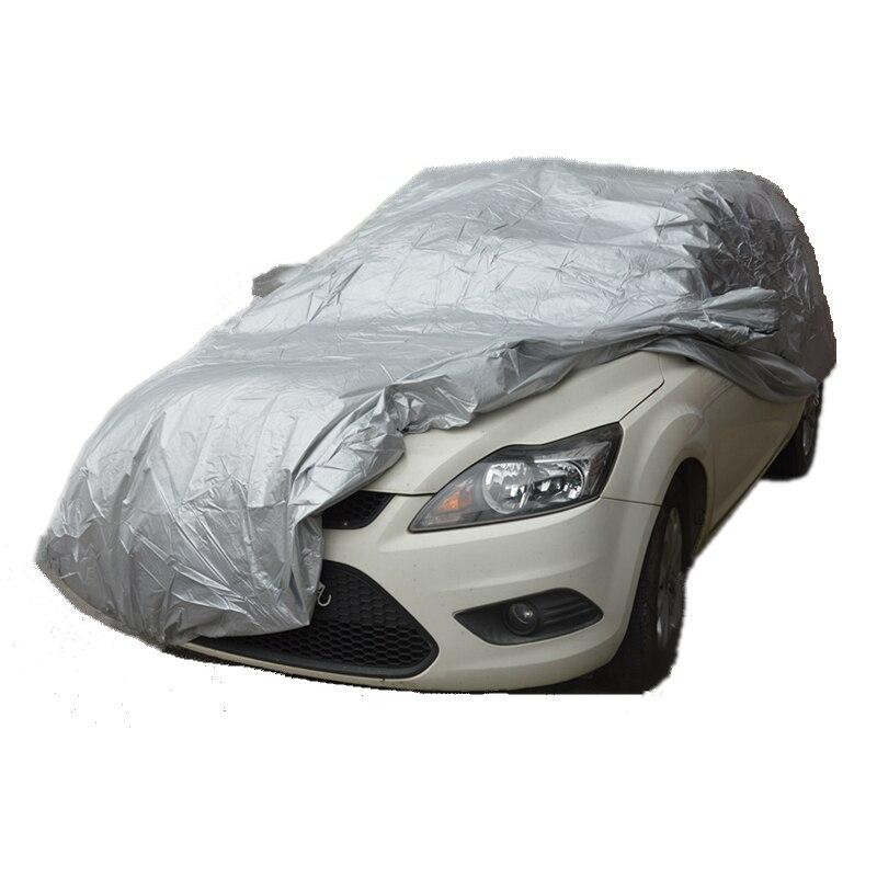 Cubiertas de coche tamaño S/M/L/XL SUV L/XL Interior Exterior cubierta completa de coche protección solar UV nieve polvo resistente a la lluvia envío gratis
