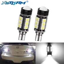 2 Pcs W16W Led Canbus T15 Led-lampen Reverse Licht 921 912 5050 Smd Cob Auto Externe Backup Rear Lamp 12V 6000K Witte Auto