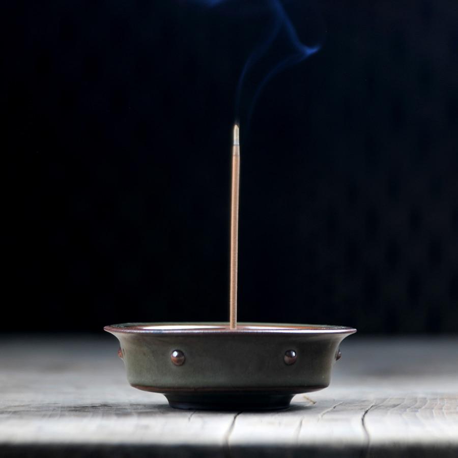 Fragrant Tower Incense Burner Sticks Stand Aroma Therapy Difusor Ceramica Velas Arom Ticas Support Encens Porcelana Oud 60
