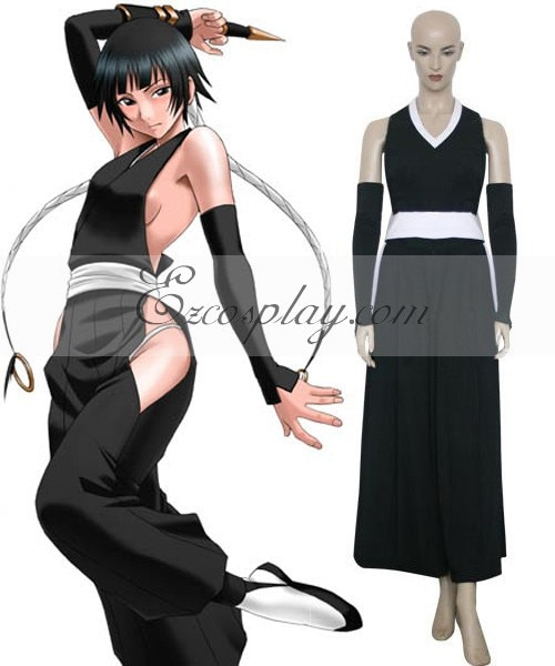 Bleach Soi Fon Battle Dress Cosplay E001