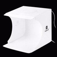 PULUZ Photo Box Lightbox Mini softbox 2 LED Photo Studio Folding Light box Room Photography Backdrop Light Box Softbox Tent Kit
