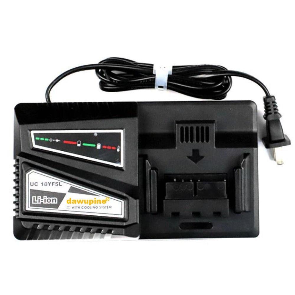 Perceuse électrique tournevis accessoire UC18YSFL Li-ion chargeur de batterie courant de charge 4.5A pour Hitachi 14.4 V 18 V série outil