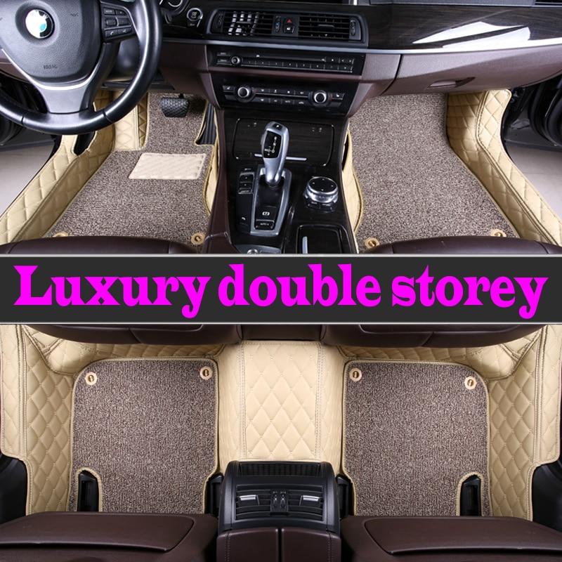 ZHAOYANHUA coche personalizado alfombras de piso para BMW Serie 2 F22 F23 F45 F46 220i 225i 230i M240i 228i 235i 218i 218 estilo alfombra piso