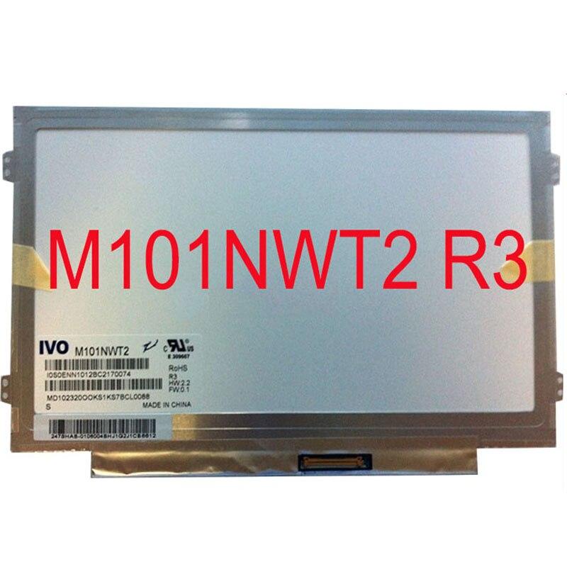 10,1-дюймовый Тонкий ЖК mtrix для Asus Eee PC 1025CE ноутбук светодиодный экран панель m101nwt2 r3 r0