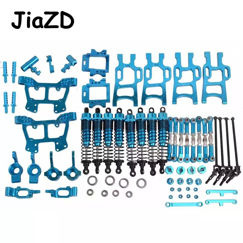 HSP 1/10 monster bigfoot truck 94108 94111 whole car metal upgrade kit 102010 102011 102012 102057 106017 108019 108022 108004 enlarge