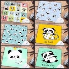 Mairuige Promotion russie mignon bébé Panda dessin animé tapis de souris PC ordinateur tapis anti-dérapant ordinateur portable PC souris tapis tapis tapis de souris 22X18CM