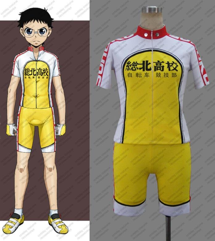 Nuevo Anime Yowamushi Pedal Onoda Sakamichi ropa deportiva Cosplay en traje