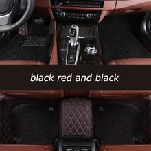 HeXinYan-tapis de sol personnalisés   Pour Mercedes Benz tous modèles E C SLK G GLA GLE GL GLC GLC CLA ML GLK CLS R A B CLK vito viano