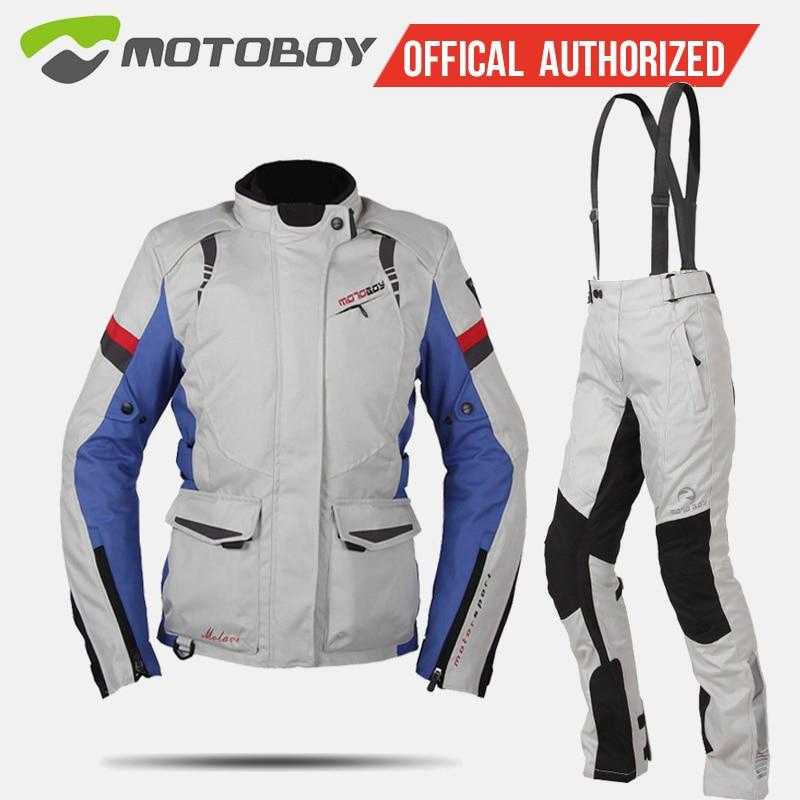 Traje de motociclismo MOTOBOY para mujer, ropa de caballero resistente a los golpes y al agua para las cuatro estaciones