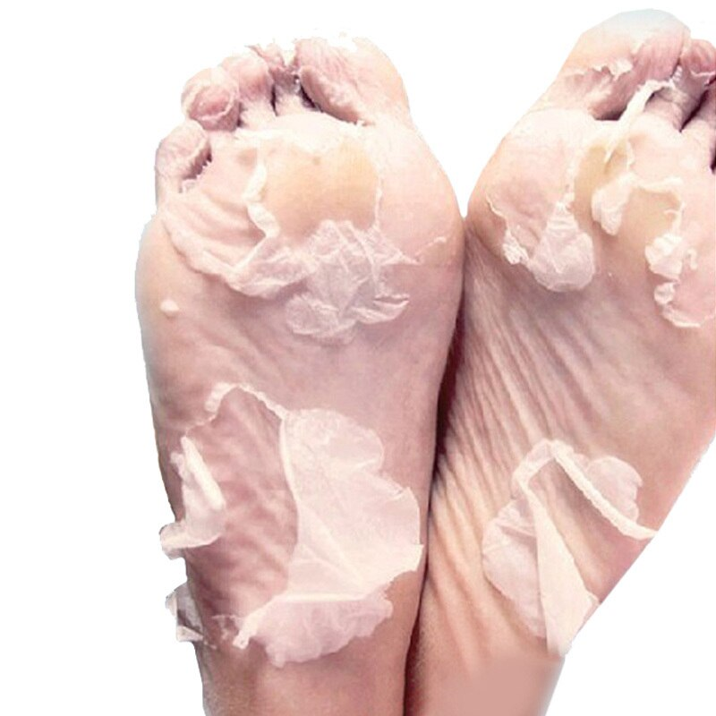 12 pacotes máscara de pé hidratante branqueamento peeling cuidados com os pés esfoliante pés máscara pedicure meias sosu pés cuidados