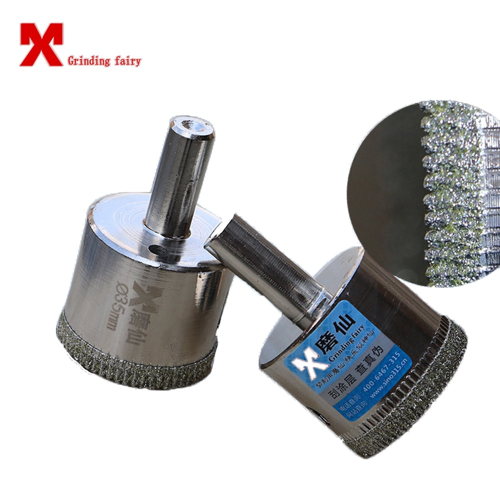 Pulidor de vidrio MX, broca de diamante, cerámica, porcelana, herramienta de perforación pulida redonda, mármol, granito, pizarra de corte duradera