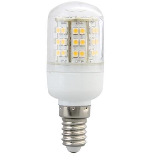 10X LAMPE SPOT A E14 48 3528SMD LED blanco CHAUD 3 vatios 2800K Luz de maíz led sala de estar led trpe e14