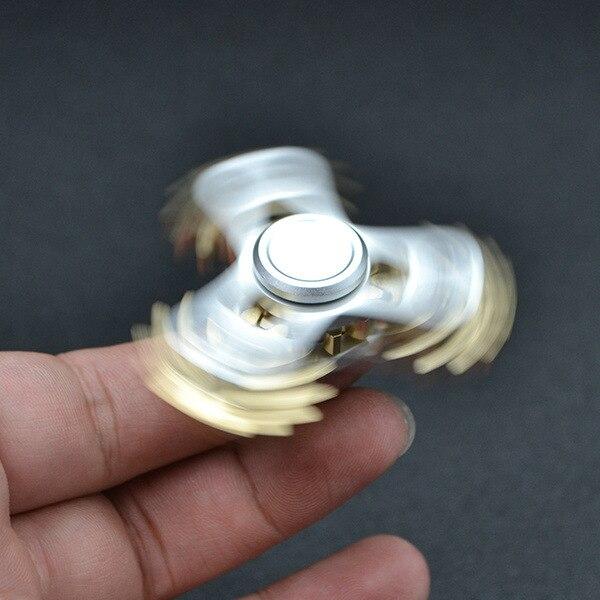 2017 Gears Fidget Spinner Fingertip Finger Top Gyro Toys EDC ADHD Fidget Hand Spiner Spiral Desktop Anti Stress Finger Game enlarge