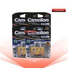 Camelion 2700mAh 1,2 V AA Batterie NiMH Ni-Mh Akku Geringe selbstentladung hohe kapazität