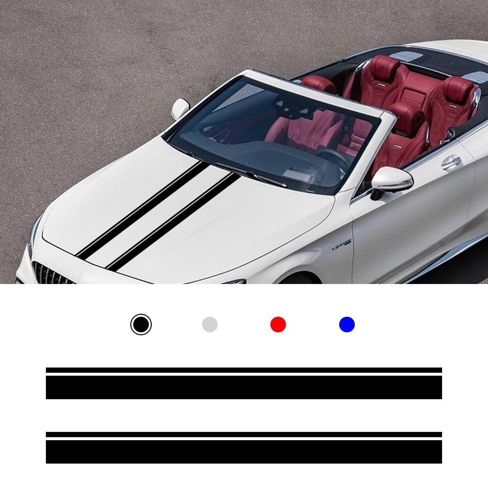 Para Mercedes Benz A C CLA CLA45 GLA45 Audi A3 A5 BMW Fiat Toyota MINI Cooper, adhesiva para puerta de pegatina coche, accesorios