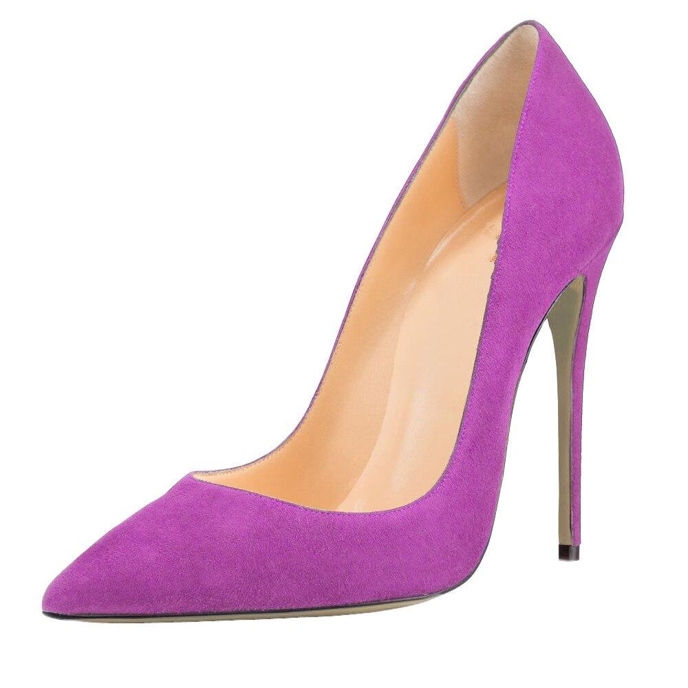 ARQA-حذاء نسائي بمقدمة ضيقة ، كعب عالي جدًا ، أحمر ، أسود ، مقاس كبير 34-48 ، ربيع-خريف ، مطاط ، بيع