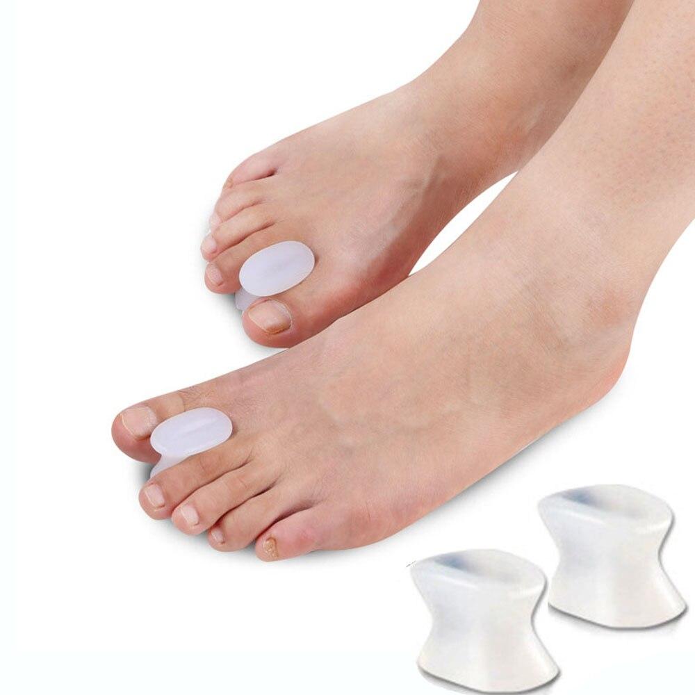 1 paire de séparateurs dorteils entretoise lisseur pouce doigt gros pieds dispositif coussinet dorteils pouce valgus correcteur soulagement pied Bunion