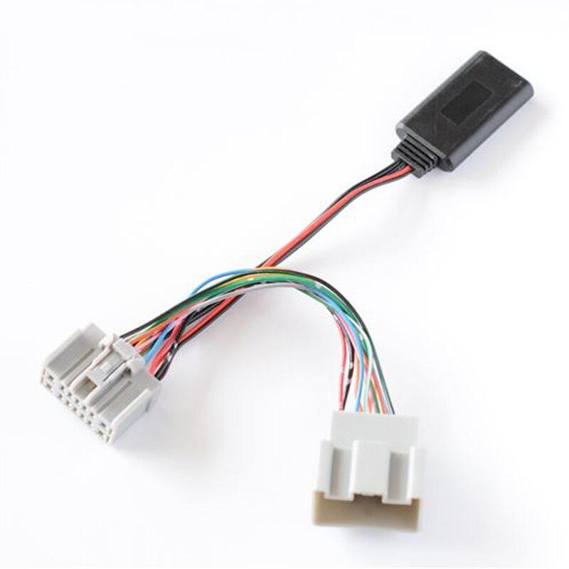 Biurlink AUX del coche módulo receptor con Bluetooth inalámbrico de música Adaptador de Audio para Volvo 30 40 50 60 70 80 90 C S V XC