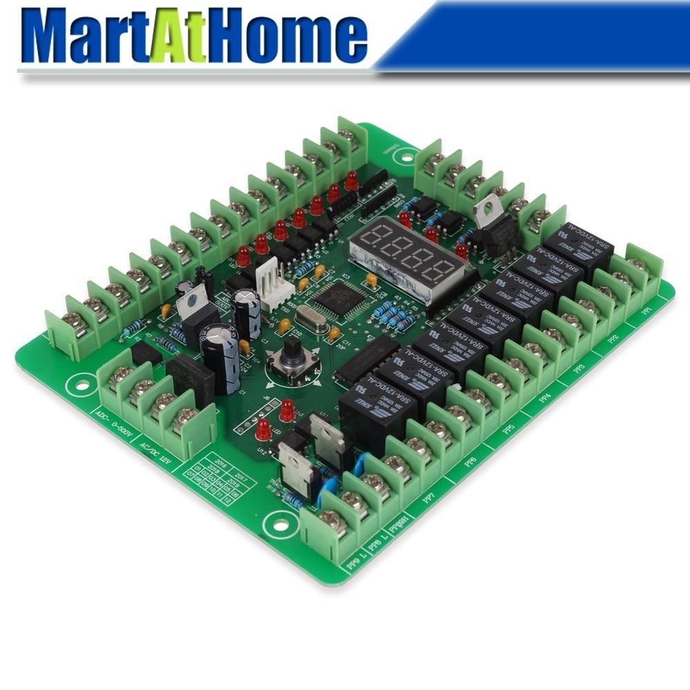 UC536-contrôleur logique Programmable   Entrée du Module de contrôleur logique PLC 12V cc avec moteur progressif PWM carte de pilote de relais # SM536 @ SD