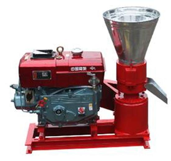 Ручной KL120A дизельный двигатель гранулятор/машина для древесных гранул