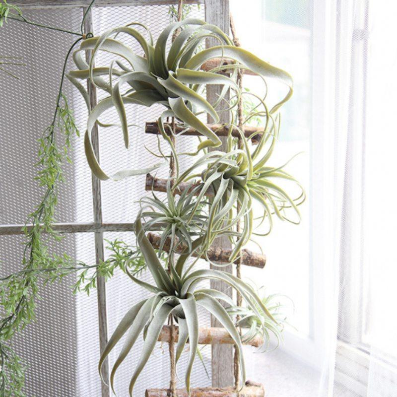 New arrival artificial air plant Tillandsia artificial plant succulent Pineapple leaf