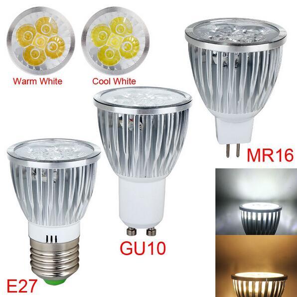 Super Bright 15W 12W 9W GU10 LED Bulb Spot Light Lamp 110V 220V Dimmable GU10 GU5.3 MR16 Recessed Lighting Warm Cold White