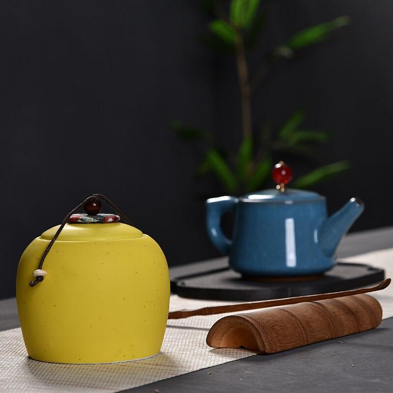 Caja de té de Azucarero, recipiente para alimentos, frasco para almacenamiento, bolsa de caramelos colorida, frasco de miel miniatura, té y café, frascos de almacenamiento de azúcar