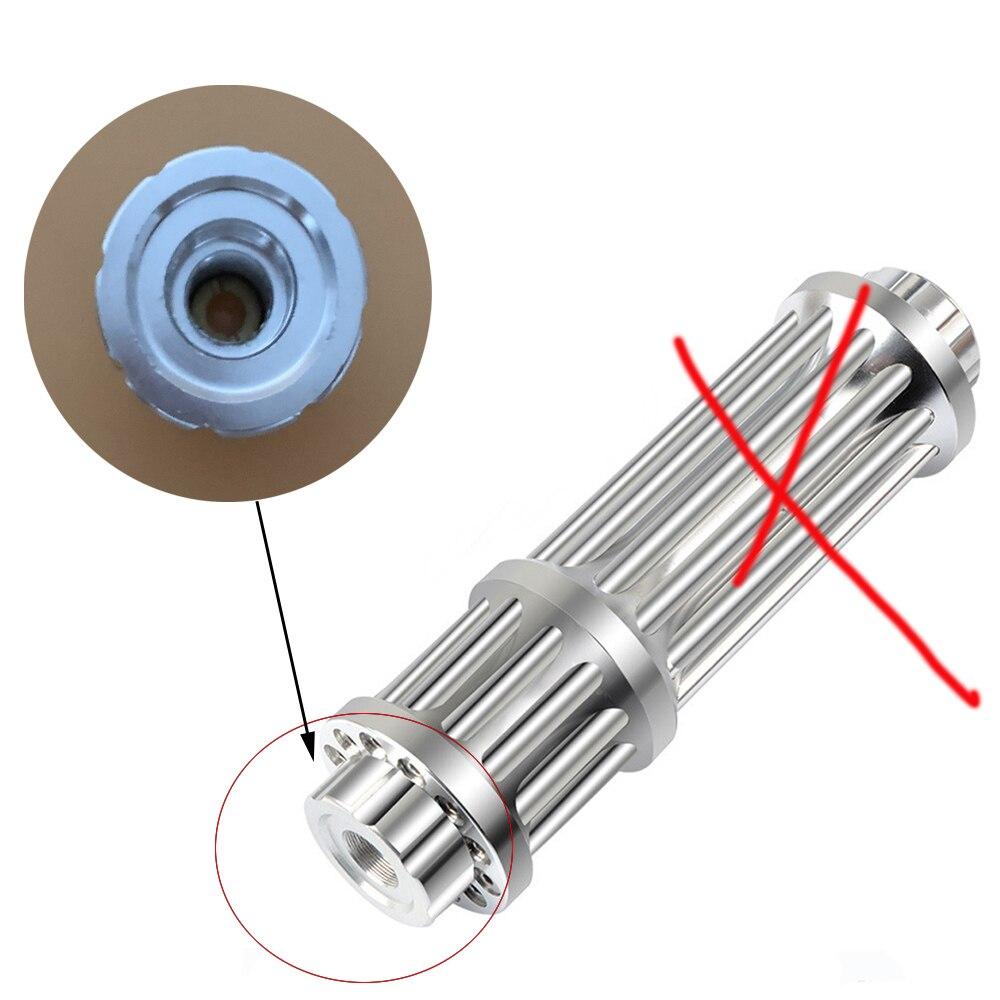 Accesorios de alta potencia de láser azul, accesorios de linterna de mira láser de 450nm (no incluye láser)
