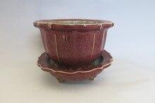 "Rare Old Chinese SongDynasty "" Jun Kiln"" porcelain flowerpots"