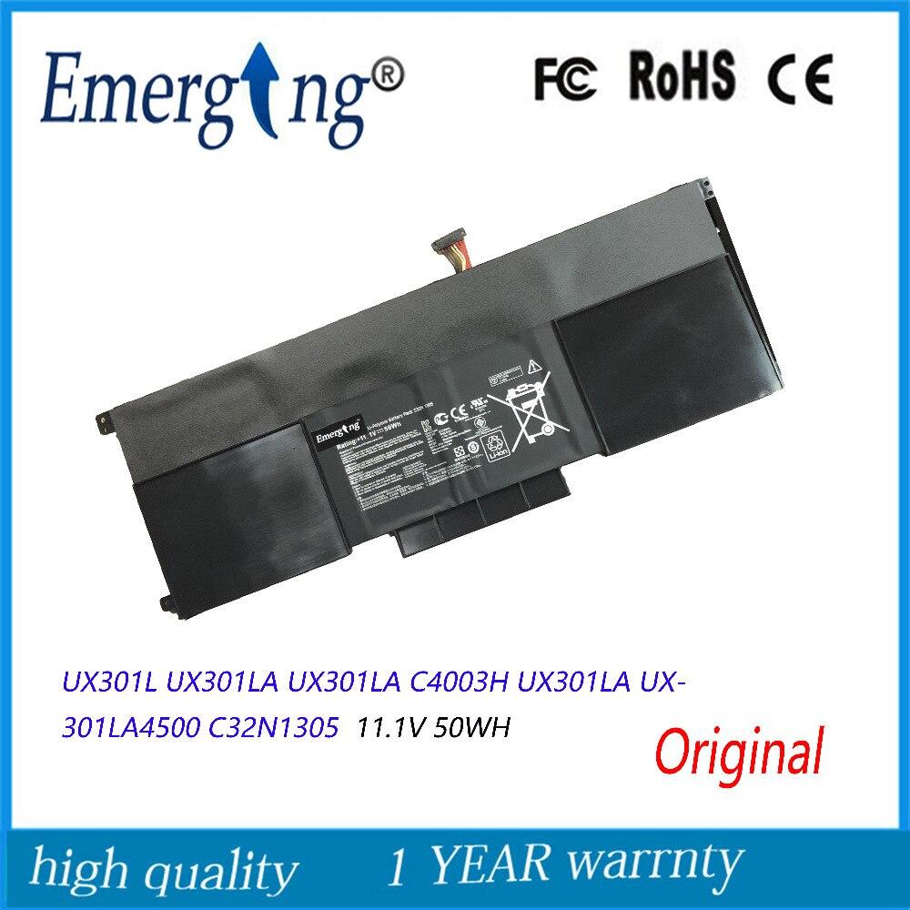 الأصلي 11.1V 50Wh جديد بطارية كمبيوتر محمول C32N1305 ل ASUS Zenbook UX301L UX301LA UX301LA C4003H UX301LA UX301LA4500