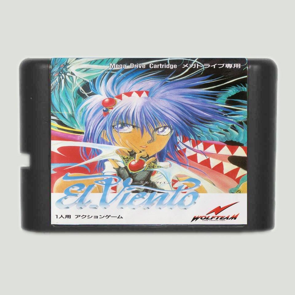Tarjeta de juego MD para Sega Mega Drive, 16 bits, Genesis