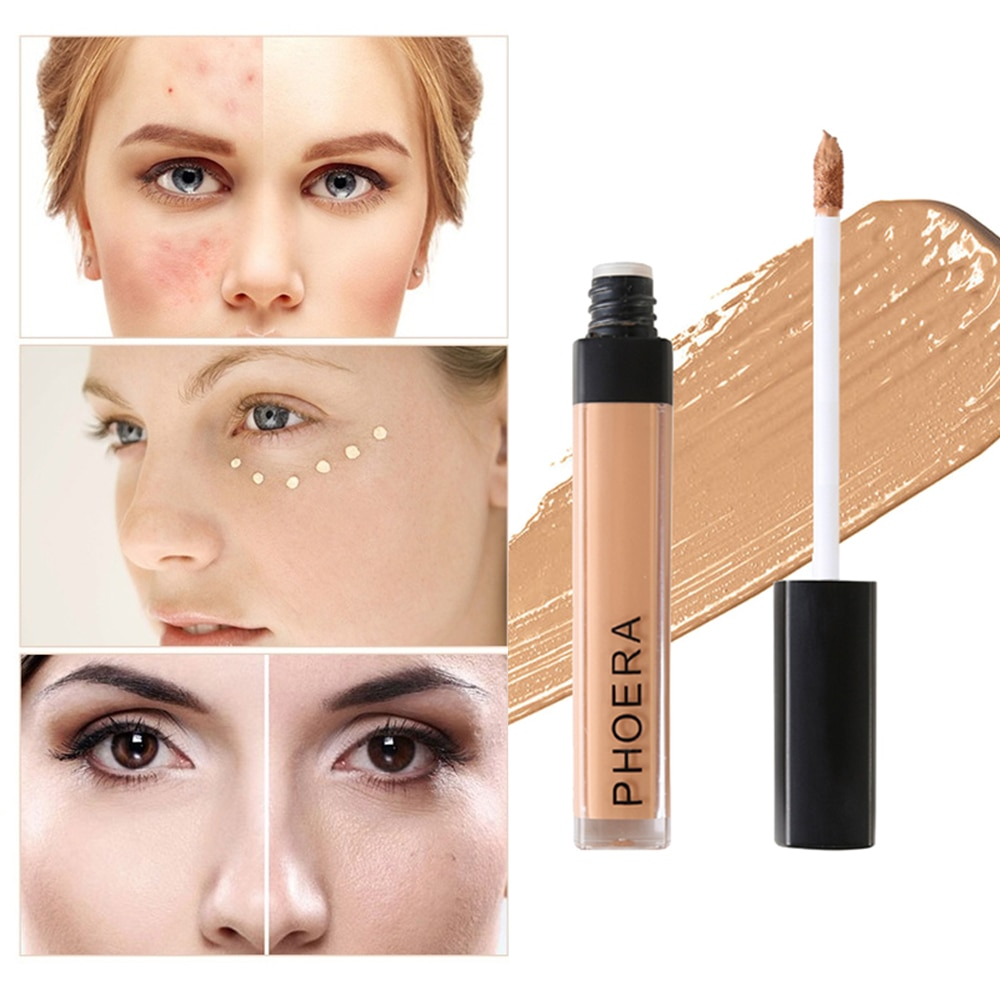 PHOERA Face Contour stick Makeup Concealer Foundation Cream Long Lasting Scars Acne Cover Cosmetic maquiagem 10 Colors  TSLM2