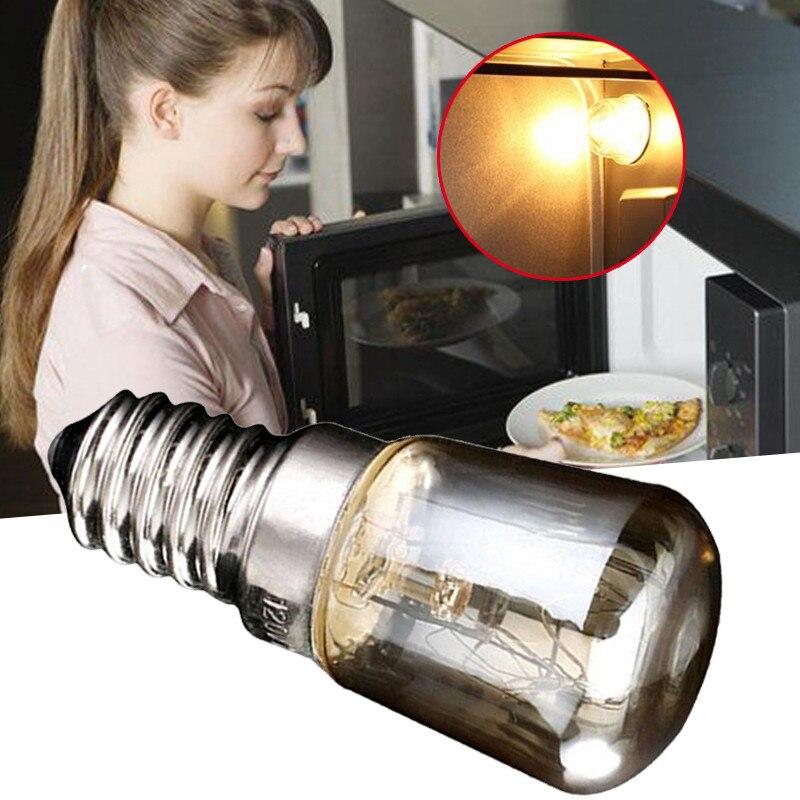Паровая лампа E14 T25 25 Вт для духовки и тостера, 300 градусов, высокая температура